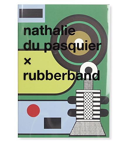 RUBBER BAND Nathalie Du Pasquier Notebook A5