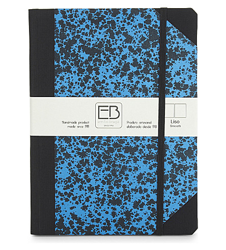 Speckled print A5 notebook