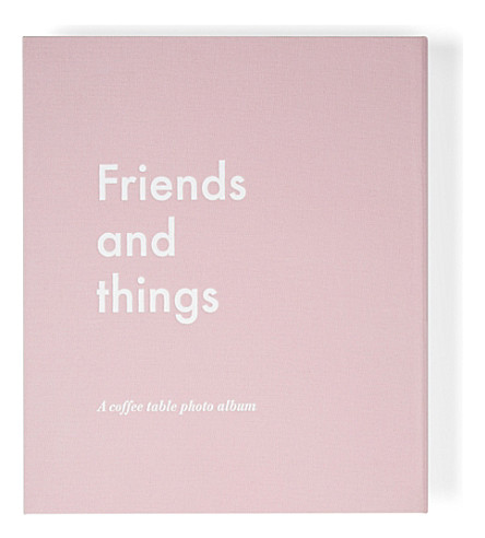 PRINT WORKS Friends and Things photo album