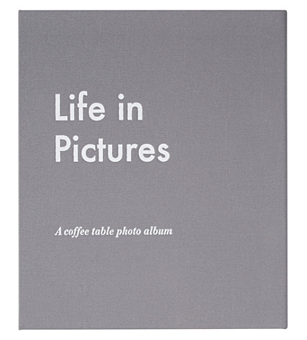 PRINT WORKS Life in Pictures photo album