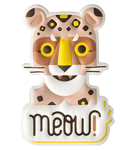 PRINT WORKS Meow phone sticker