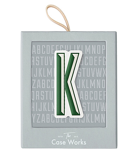 PRINT WORKS Letter K sticker