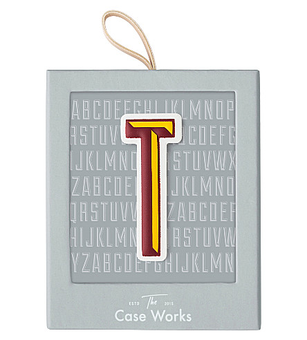 PRINT WORKS Letter T sticker