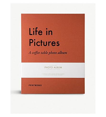 PRINT WORKS 生活在图片相册31.5厘米x16厘米