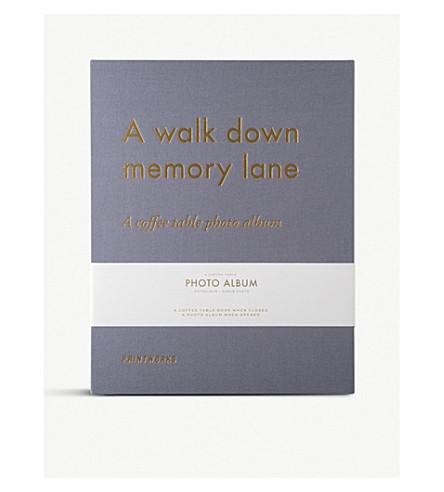 PRINT WORKS A Walk Down Memory Lane photo album
