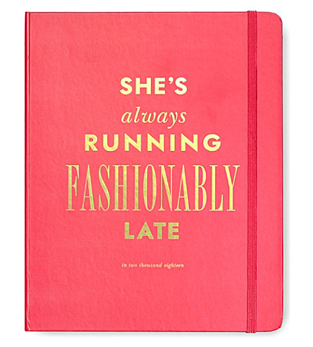 KATE SPADE NEW YORK Fashionably Late large 17-month agenda