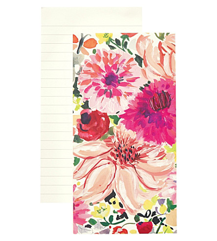KATE SPADE NEW YORK Dahlia large lined notepad