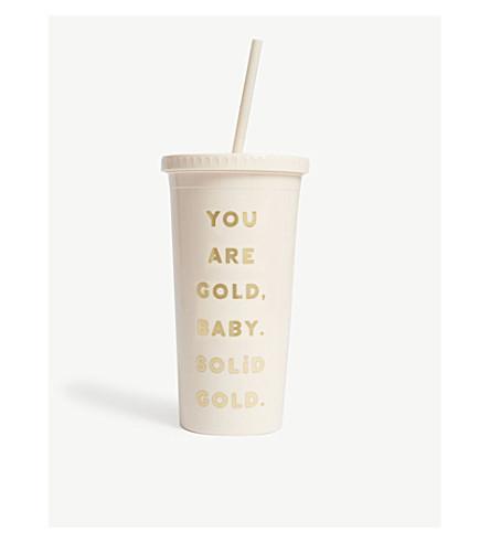 BANDO Sip Sip 'You Are Gold' tumbler 568ml