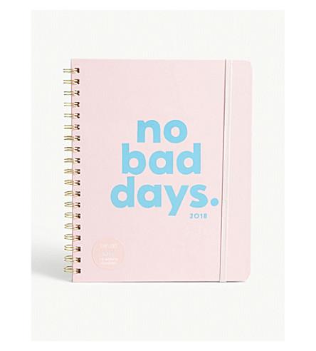 BANDO No bad days 12-month planner 22.5x20cm