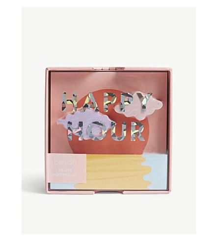 BANDO Happy Hour deluxe notepad set