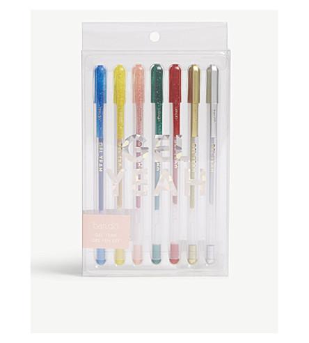 BANDO Gel Yeah gel pen set of seven