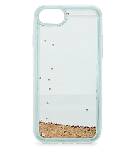 BANDO Glitter Bomb iPhone 6/7 case (Blue