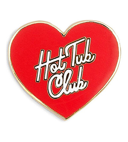 BANDO Hot Tub Club enamel pin