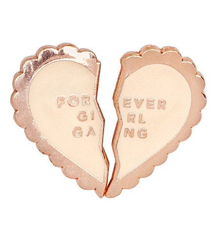 BANDO Forever girl gang enamel pin set