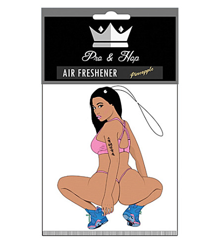 PRO + HOP Nicki Minaj car air freshener