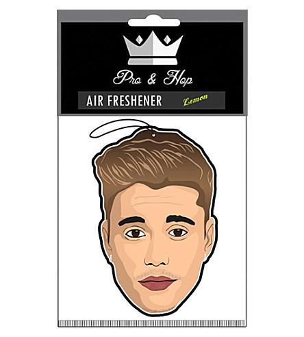 PRO + HOP Justin Bieber car air freshener