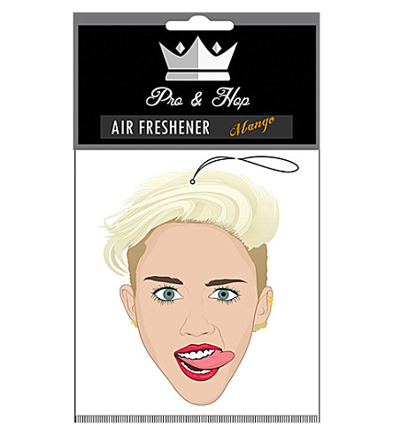 PRO + HOP Miley Cyrus car air freshener