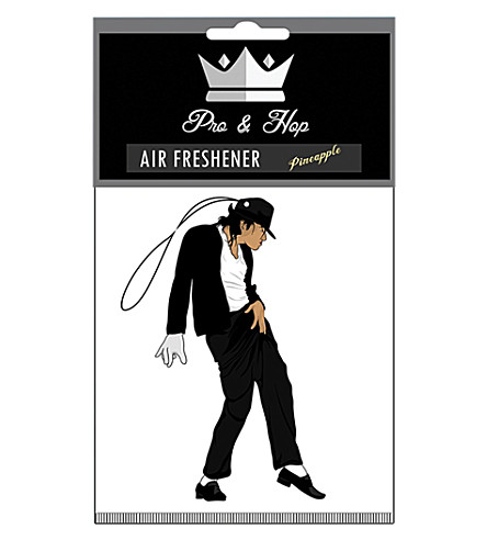 Dancing MJ air freshener