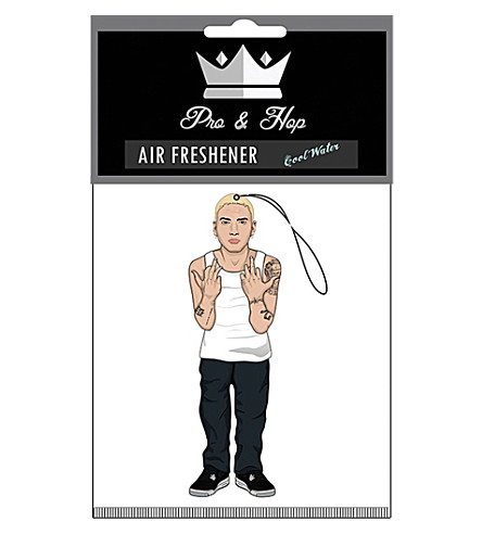 PRO + HOP Slim Shady car air freshener