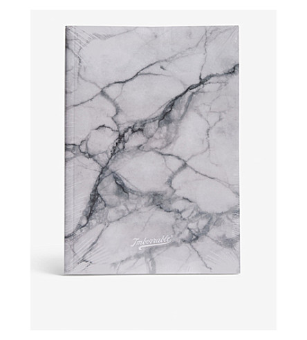 WALK WITH ME Marble notebook