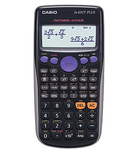 CASIO ELECTRONICS Scientific calulator fx-83GT Plus
