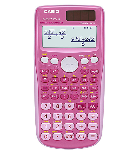 CASIO ELECTRONICS Scientific calculator fx-85GT Plus