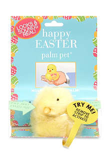 GISELA GRAHAM Palm pet chirping chick