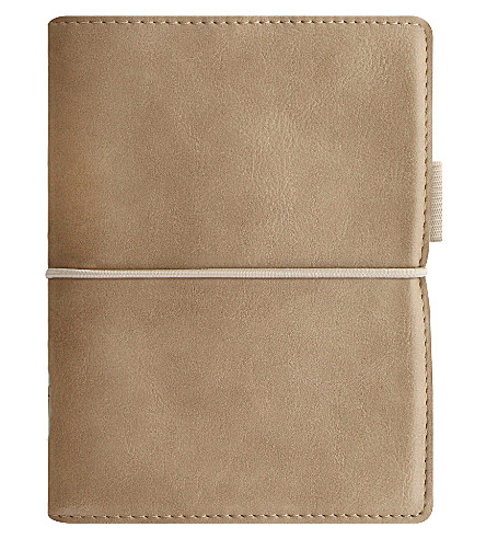 FILOFAX Domino faux-leather pocket organiser