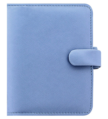 FILOFAX Saffiano faux-leather pocket organiser