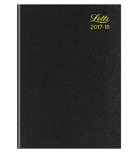 FILOFAX Standard A5 2017-2018 week to view hardback diary