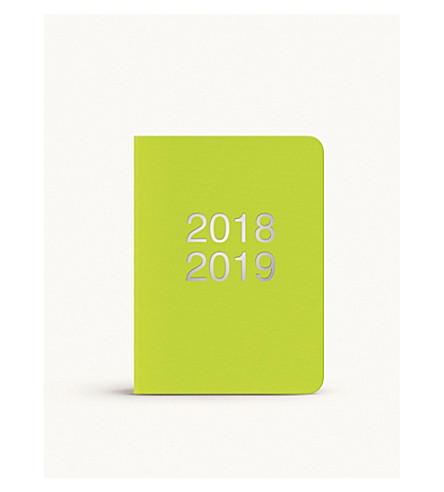 LETTS Dazzle A6 2018-19 appointments diary