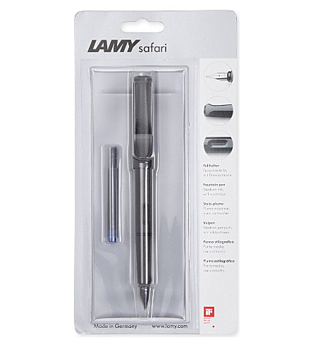 LAMY Safari black fountain pen