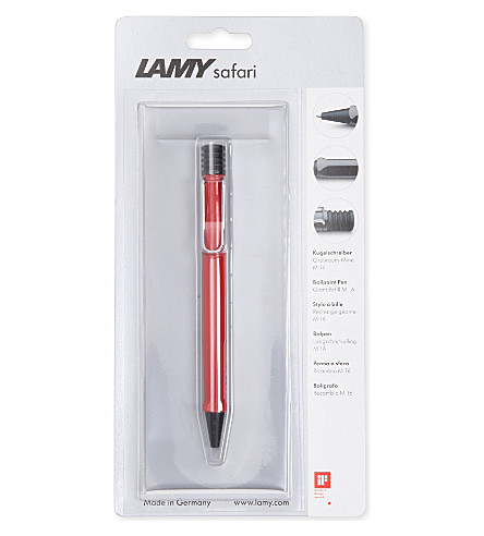 LAMY Safari red ballpoint pen