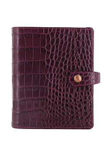 FILOFAX Osterley pocket organiser plum
