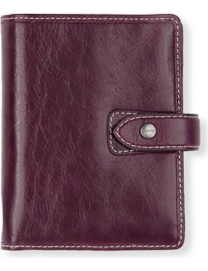 FILOFAX Malden leather personal organiser