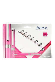 FILOFAX Breast Cancer Campaign charity ballpoint pen pink