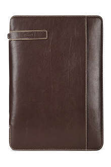 FILOFAX Holborn A4 folder brown