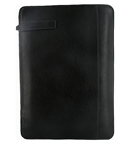 FILOFAX Holborn zipped folio with handle