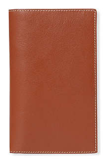 FILOFAX Flex slim natural leather notebook cover
