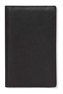 FILOFAX Slim Flex leather cover and notebook
