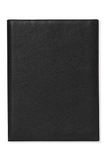 FILOFAX A5 Flex nappa leather cover and notebook organiser