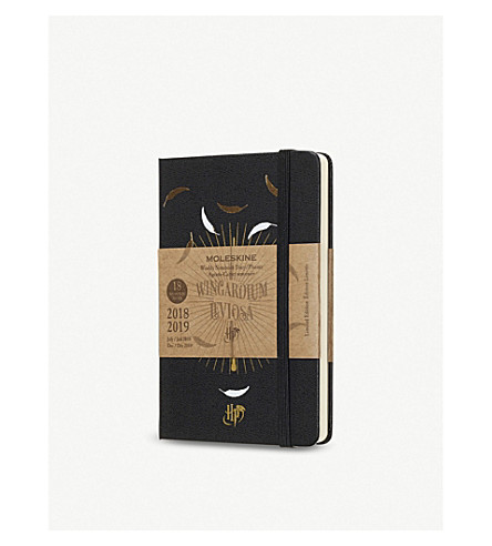 MOLESKINE Harry Potter weekly 18-month pocket diary/planner 2018-19 14cm