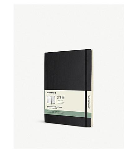 MOLESKINE Weekly 18-month diary/planner 2018/19 25cm
