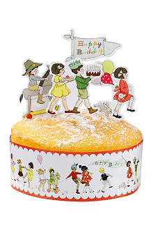 TALKING TABLES Belle & Boo cake frill and toppers