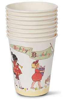 TALKING TABLES Belle & Boo paper cups pack of eight