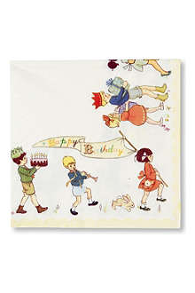 TALKING TABLES Belle & Boo napkins pack of twenty