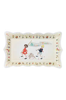 TALKING TABLES Belle & Boo party platters pack of four