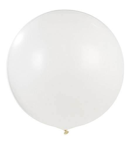 TALKING TABLES Blossom & Brogues giant white balloon
