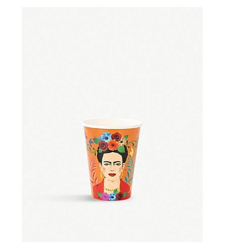 TALKING TABLES Boho paper cups 340ml set of 12