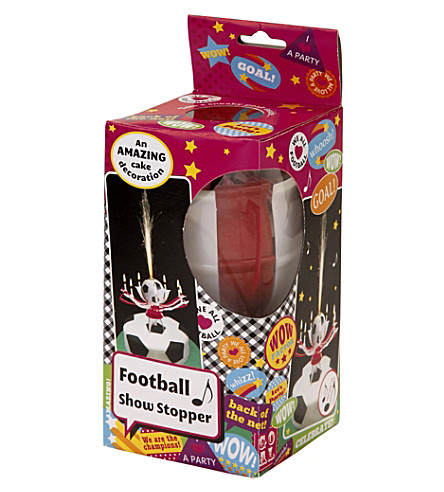 TALKING TABLES Football Show Stopper ice fountain candle